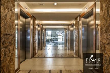 6 Elevators each Tower