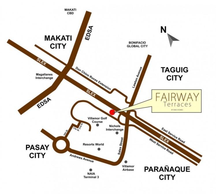 Fairway-Terraces-Map
