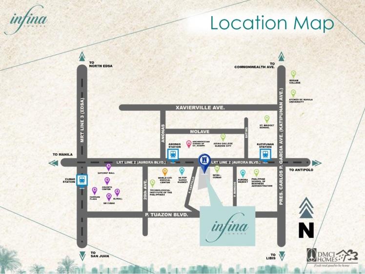 infina-location-map