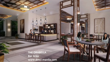 Orabella Bar Area